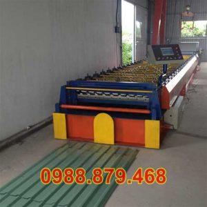 Máy Cán Tôn 1 Tần 9 Sóng